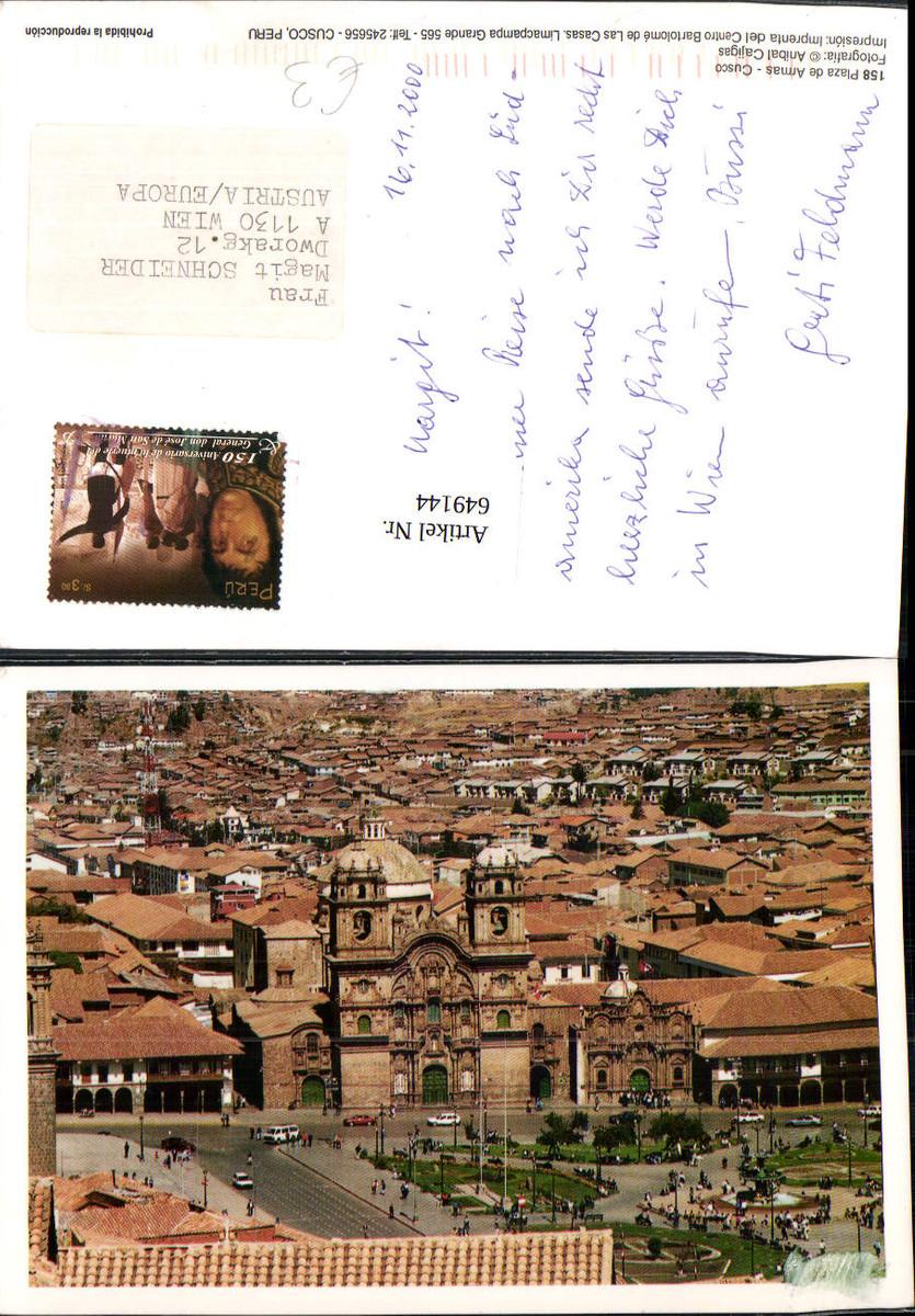 649144,Cusco Peru Plaza de Armas günstig online kaufen