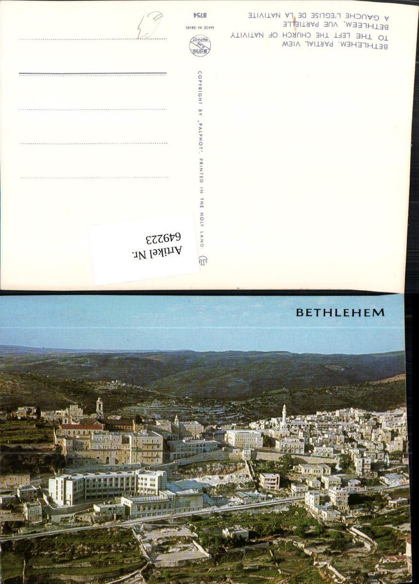 649223,Bethlehem Partial View to the left the Church of Nativity Israel günstig online kaufen