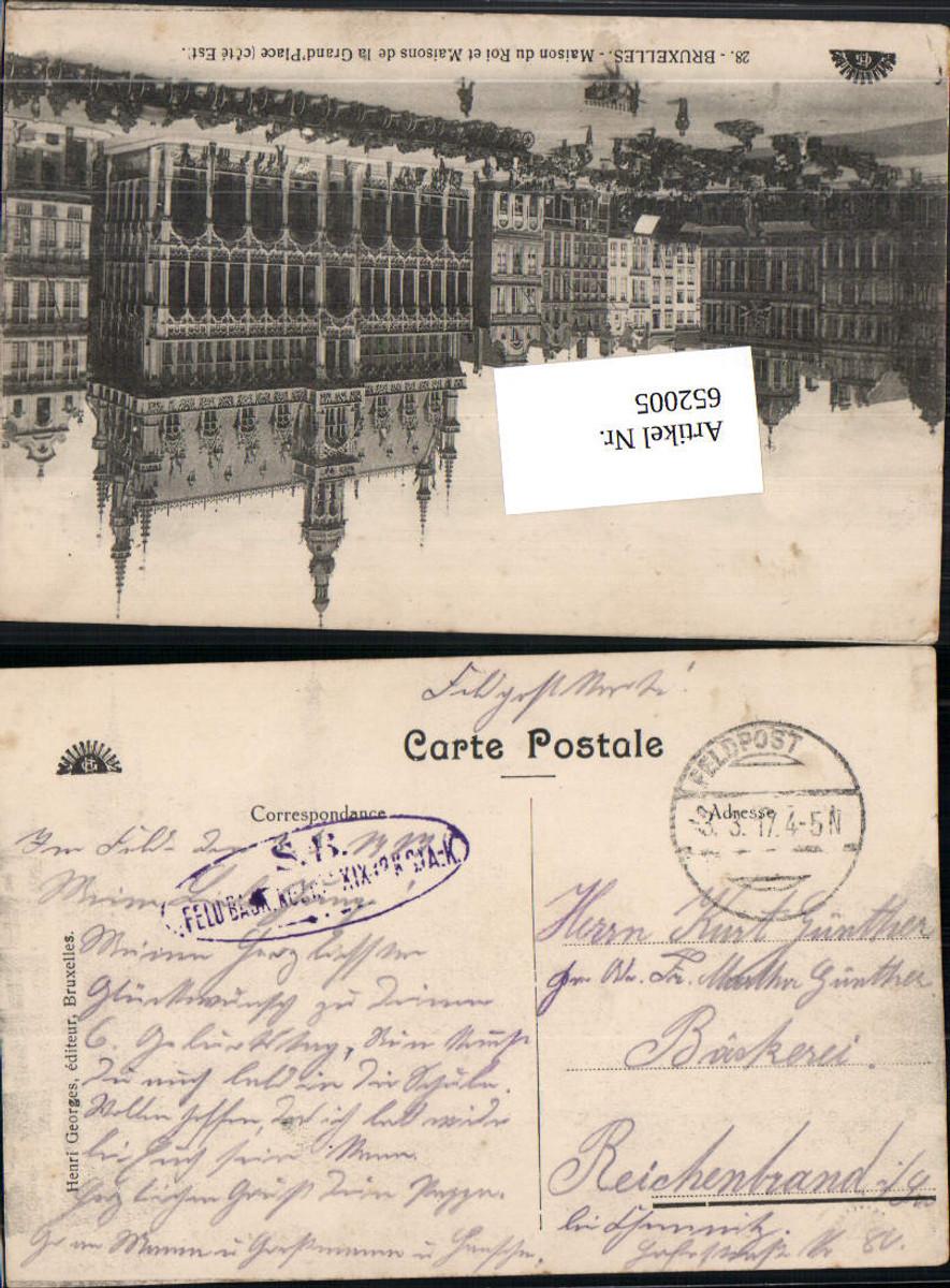 652005,K. D. Feldpost Feld. Baon. n. Reichenbrand Chemnitz günstig online kaufen