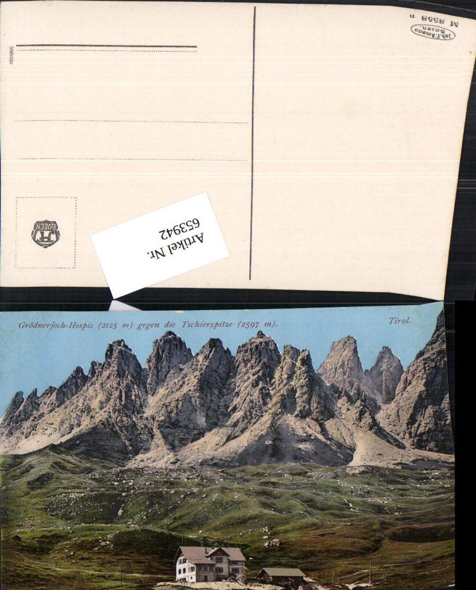 653942,Trentino Grödnerjoch Hospiz Gröden Tschierspitze Tschiers Gröden günstig online kaufen