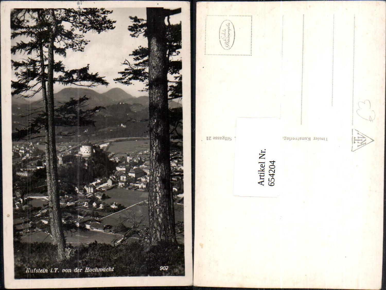 654204,Foto Ak Kufstein i. Tirol v. d. Hochwacht günstig online kaufen