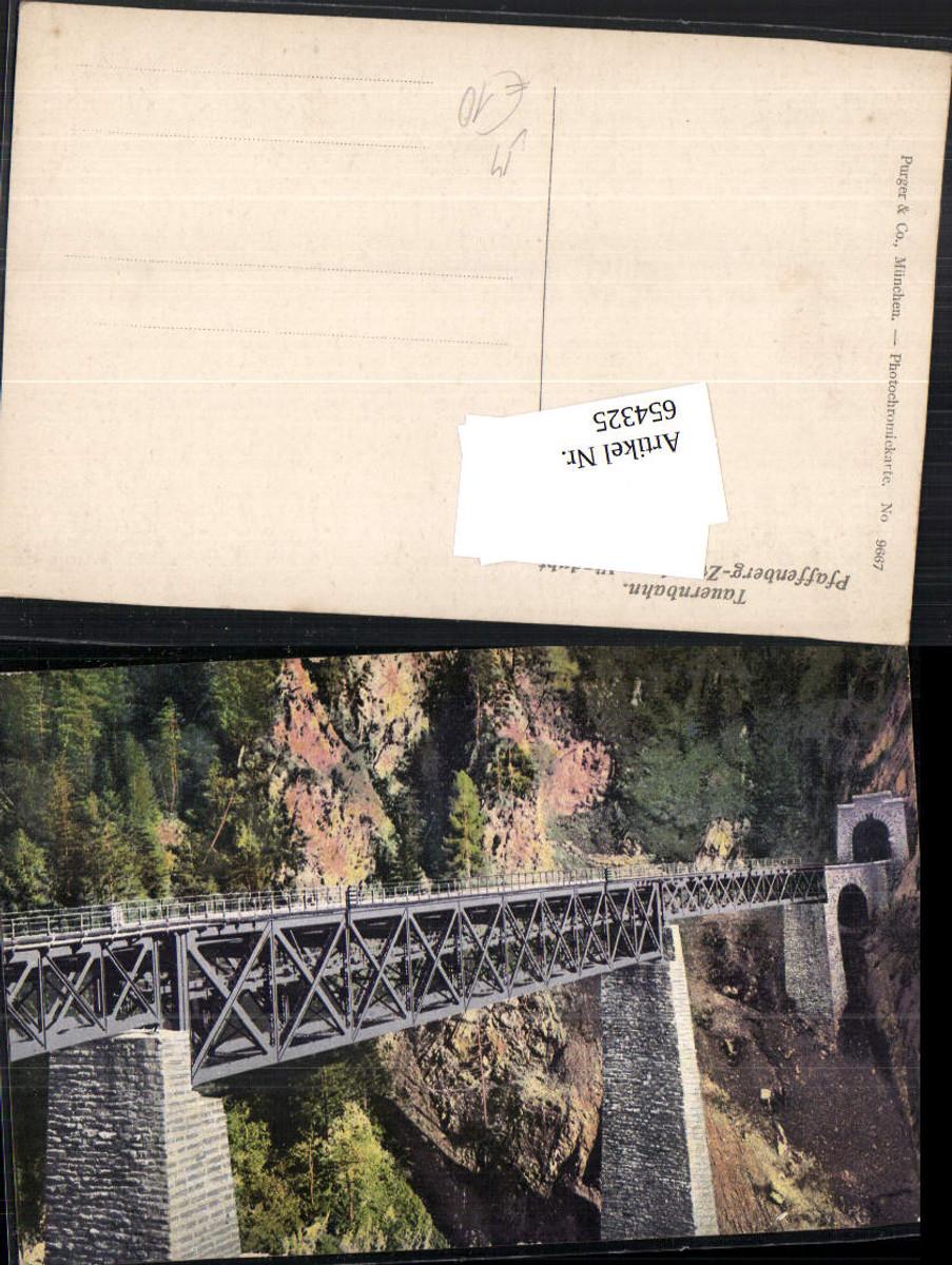 654325,Tauernbahn Pfaffenberg Viadukt Zwenberg Obervellach Brücke Purger & Co. günstig online kaufen