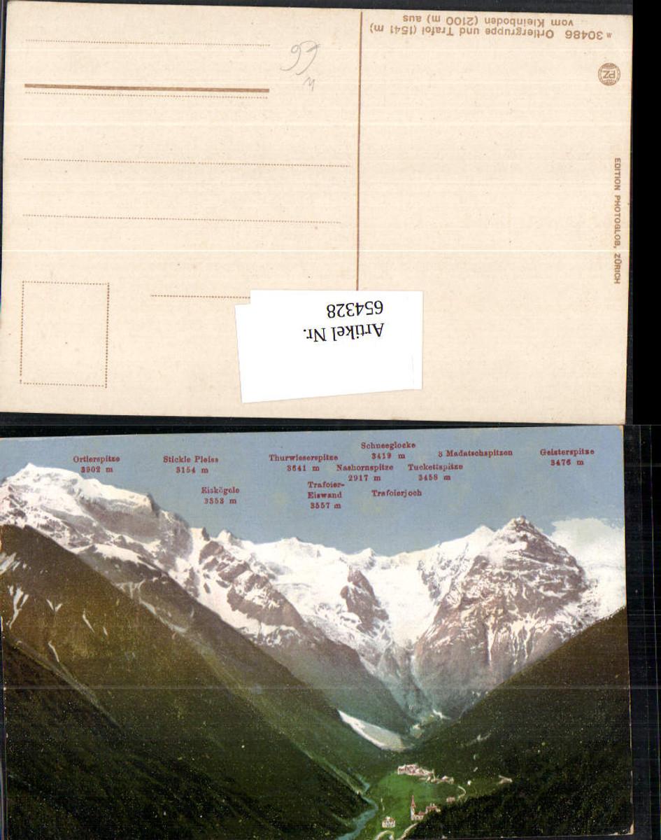 654328,Ortlergruppe Ortler Trafoi Sulden Trentino günstig online kaufen
