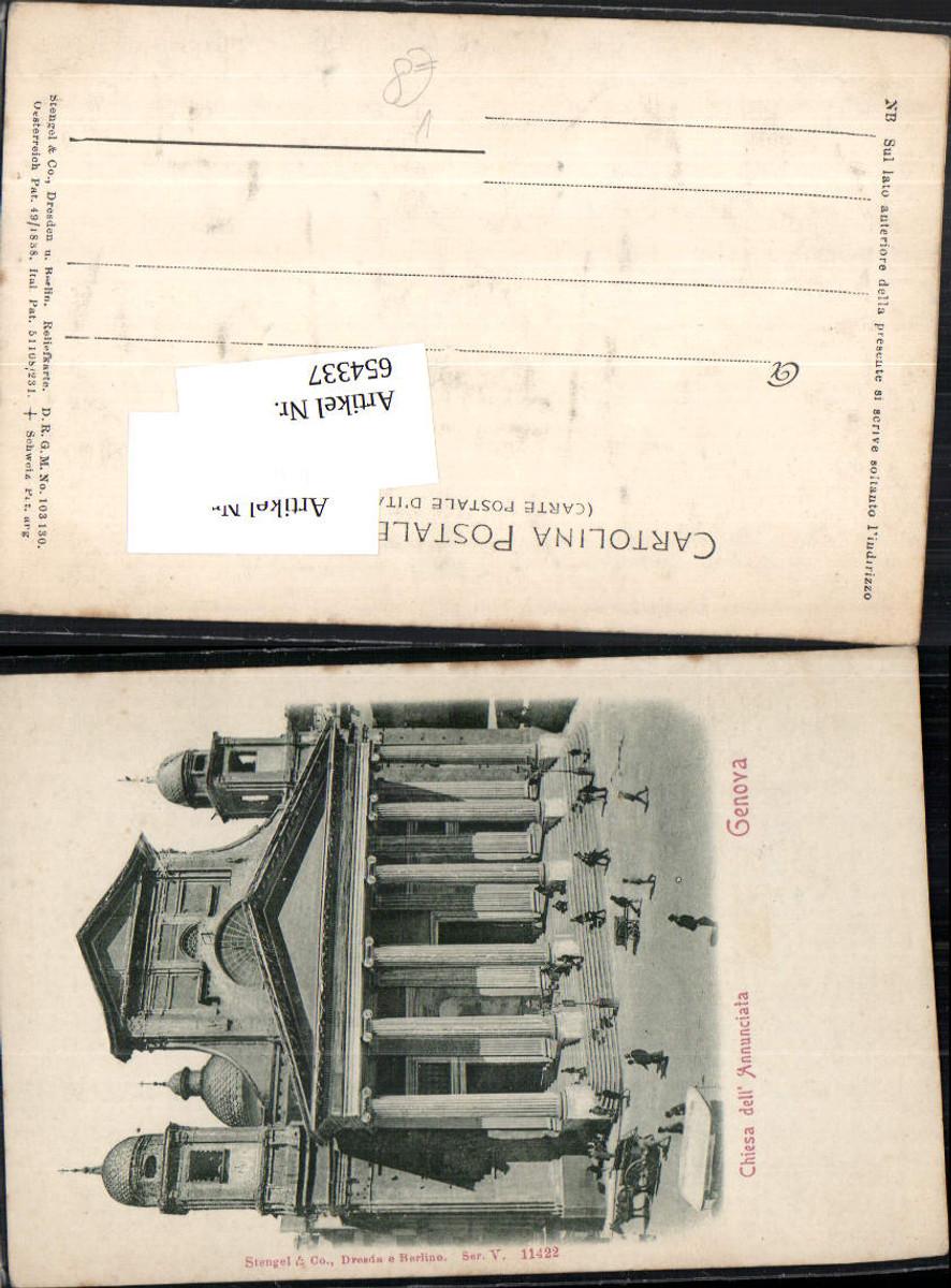 654337,seltene Relief-AK Präge AK Genova Genua Reliefkarte pub Stengel & Co. günstig online kaufen