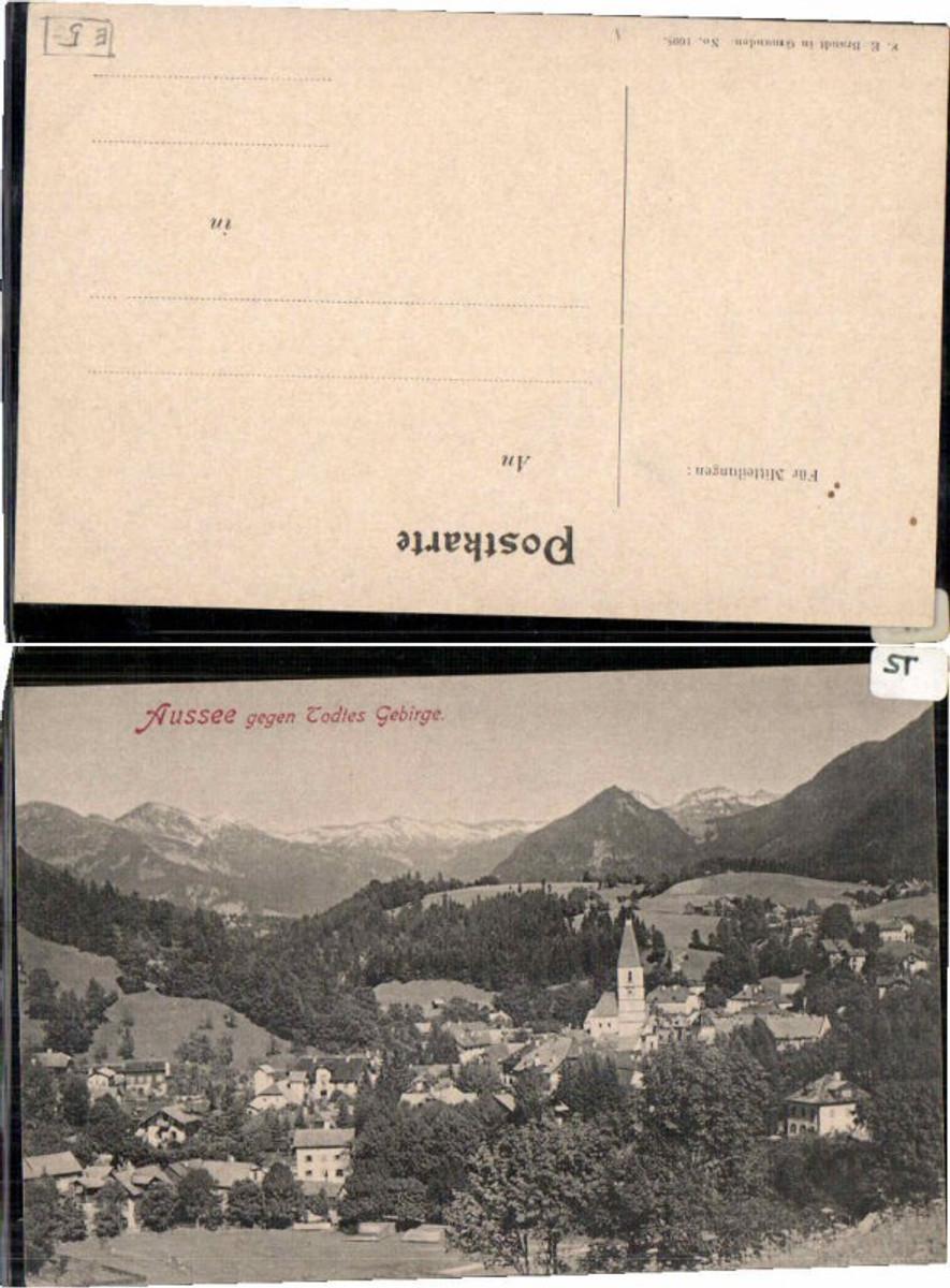 59516,Aussee gegen Todtes Gebirge pub Brandt 1608 günstig online kaufen