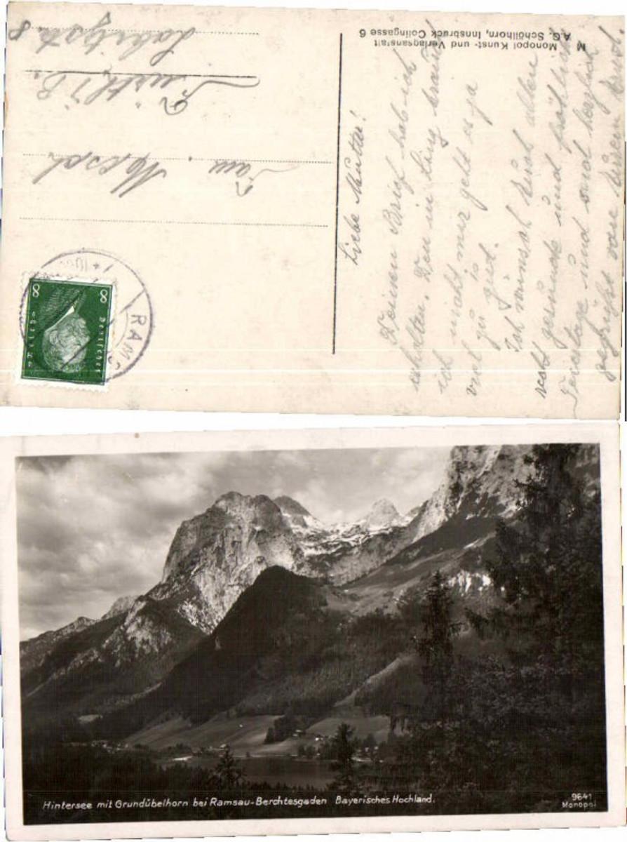 59593,Hintersee bei Ramsau Berchtesgaden  günstig online kaufen