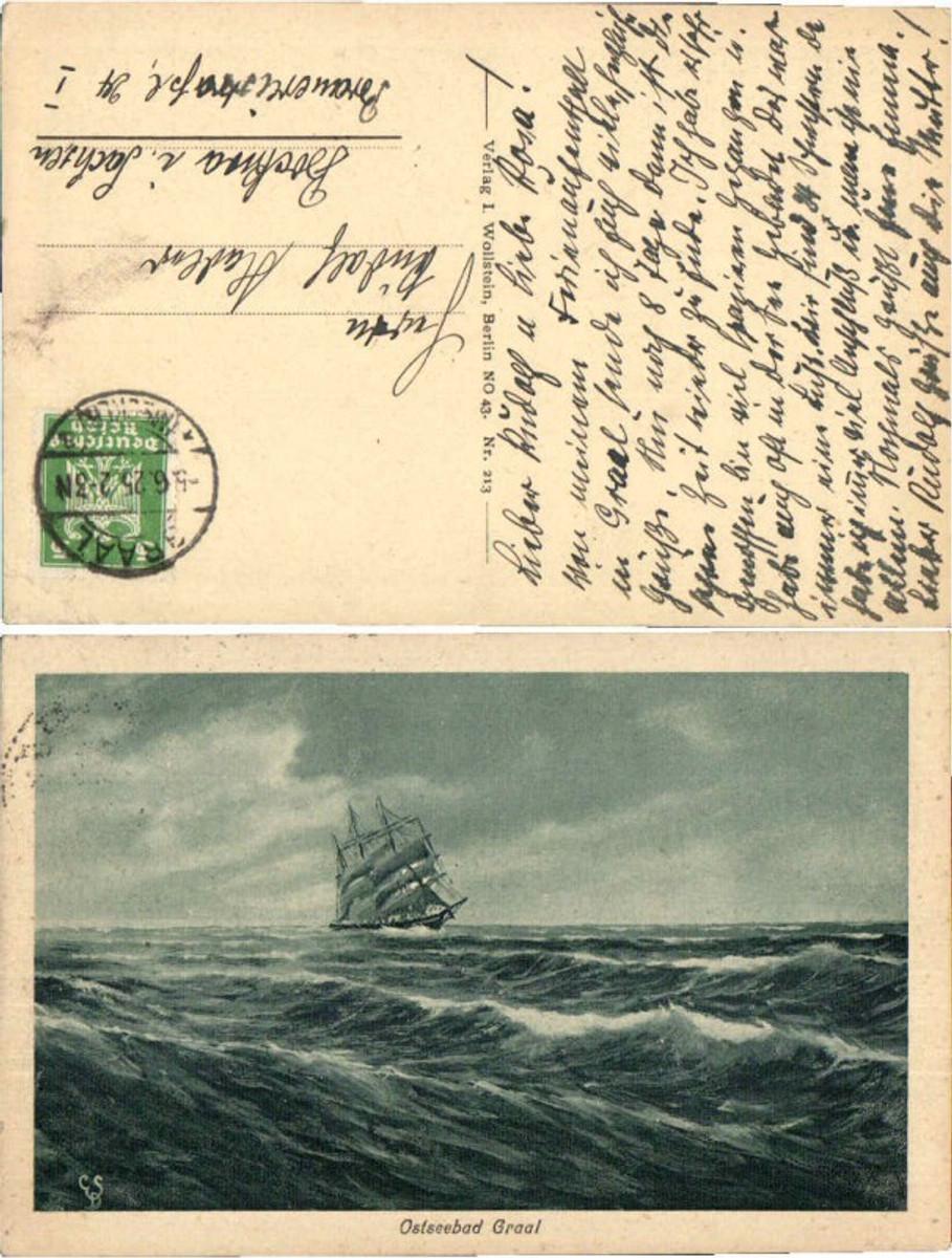 59771,Ostseebad Graal Segelschiff am Meer günstig online kaufen