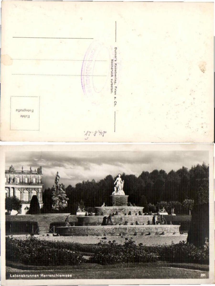 59872,Latonabrunnen Herrenchiemsee Chiemsee  günstig online kaufen