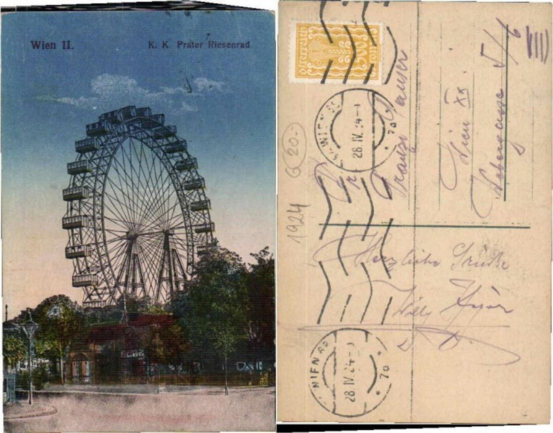 60009,Wien 2 Prater Riesenrad 1915 günstig online kaufen