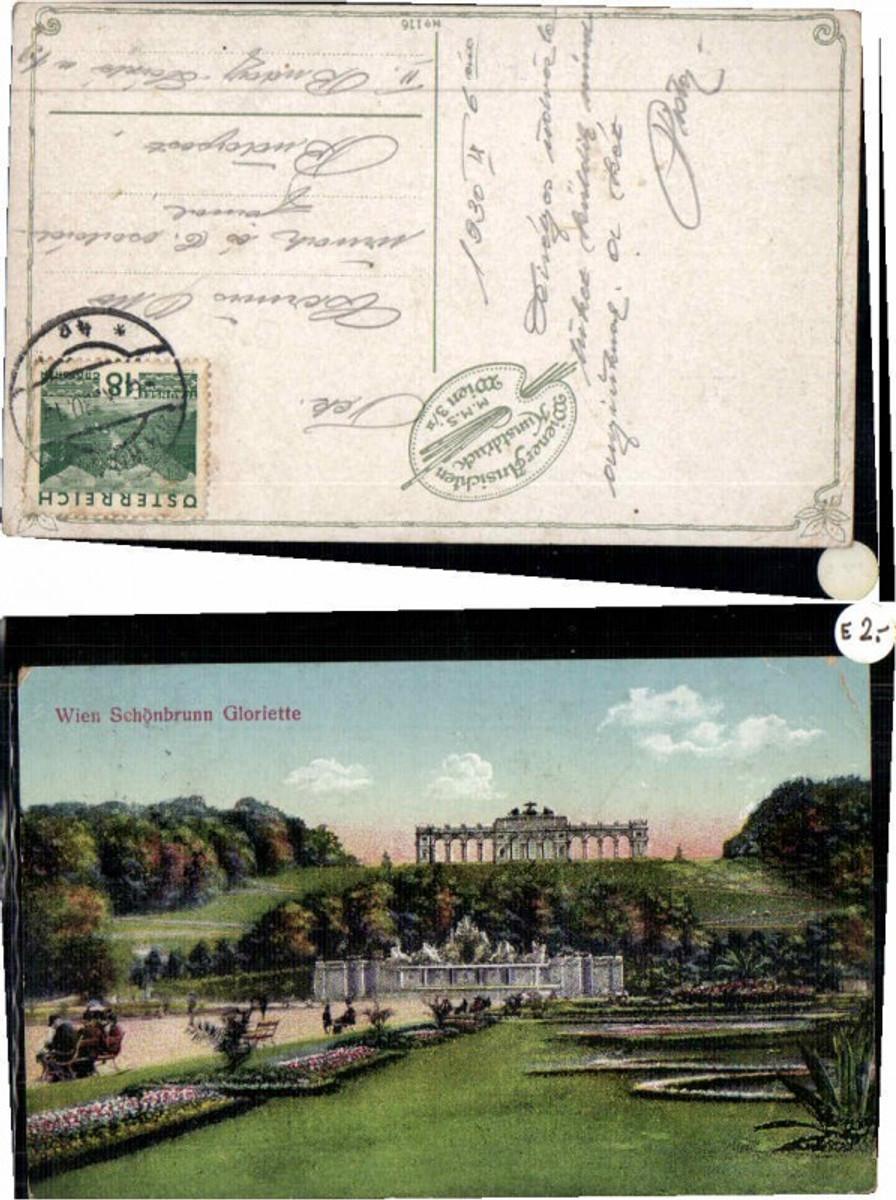 60014,Wien Schönbrunn Gloriette Partie um 1915 günstig online kaufen