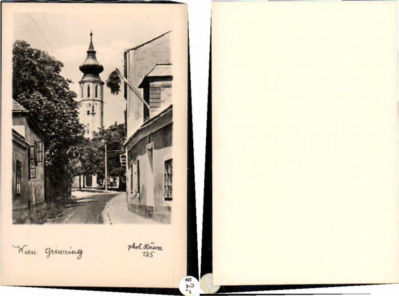 60042,Wien Grinzing Strassenpartie 1930 günstig online kaufen