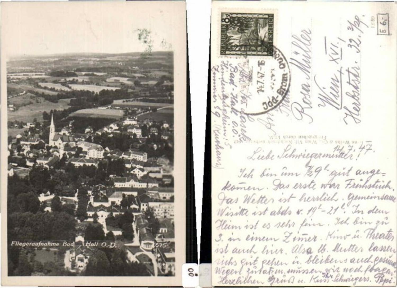 60295,Fliegeraufnahme Bad Hall bei Steyr 1942 günstig online kaufen