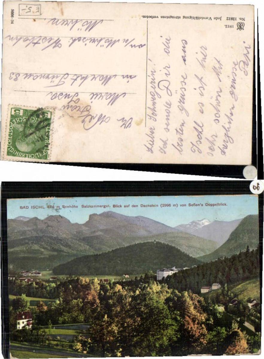 60302,Bad Ischl Dachstein v. Sofiens Doppelblick günstig online kaufen
