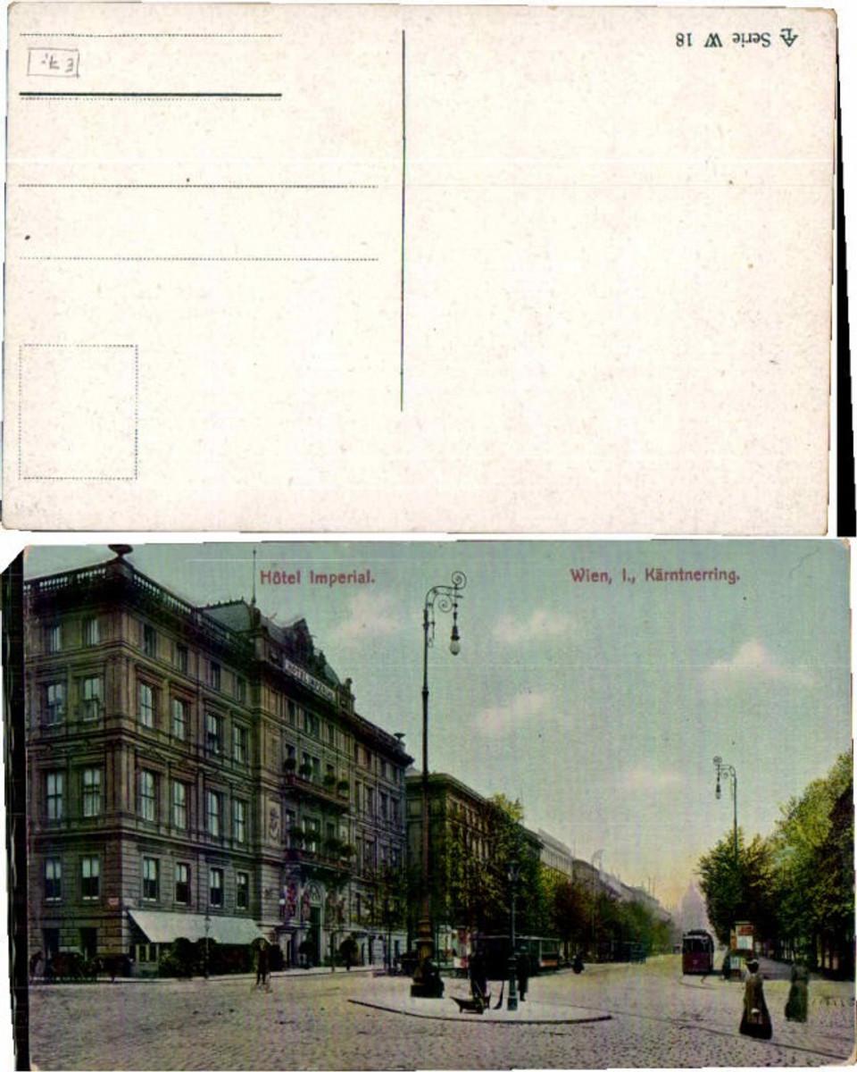 60484,Wien 1 Hotel Imperial Kärntnerring Strassenbahn  günstig online kaufen