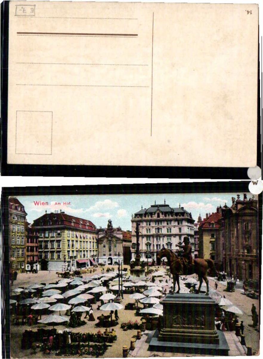 60510,Wien Am Hof Partie um 1920 günstig online kaufen