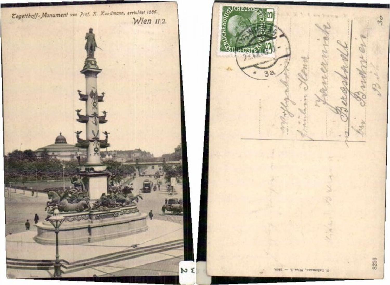 60525,Wien 2 Prater Tegetthoff Denkmal 1908 günstig online kaufen