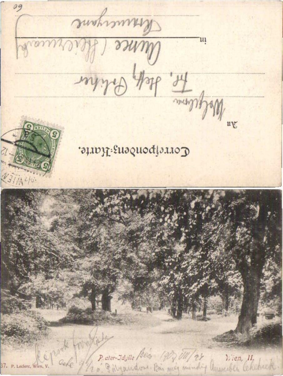 60551,Wien Prater Idylle Partie im Park 1905 günstig online kaufen