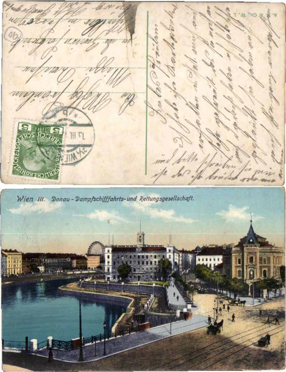 60664,Wien 3 Donau Dampfschifffahrts Rettungsgesellschaft 1910 günstig online kaufen
