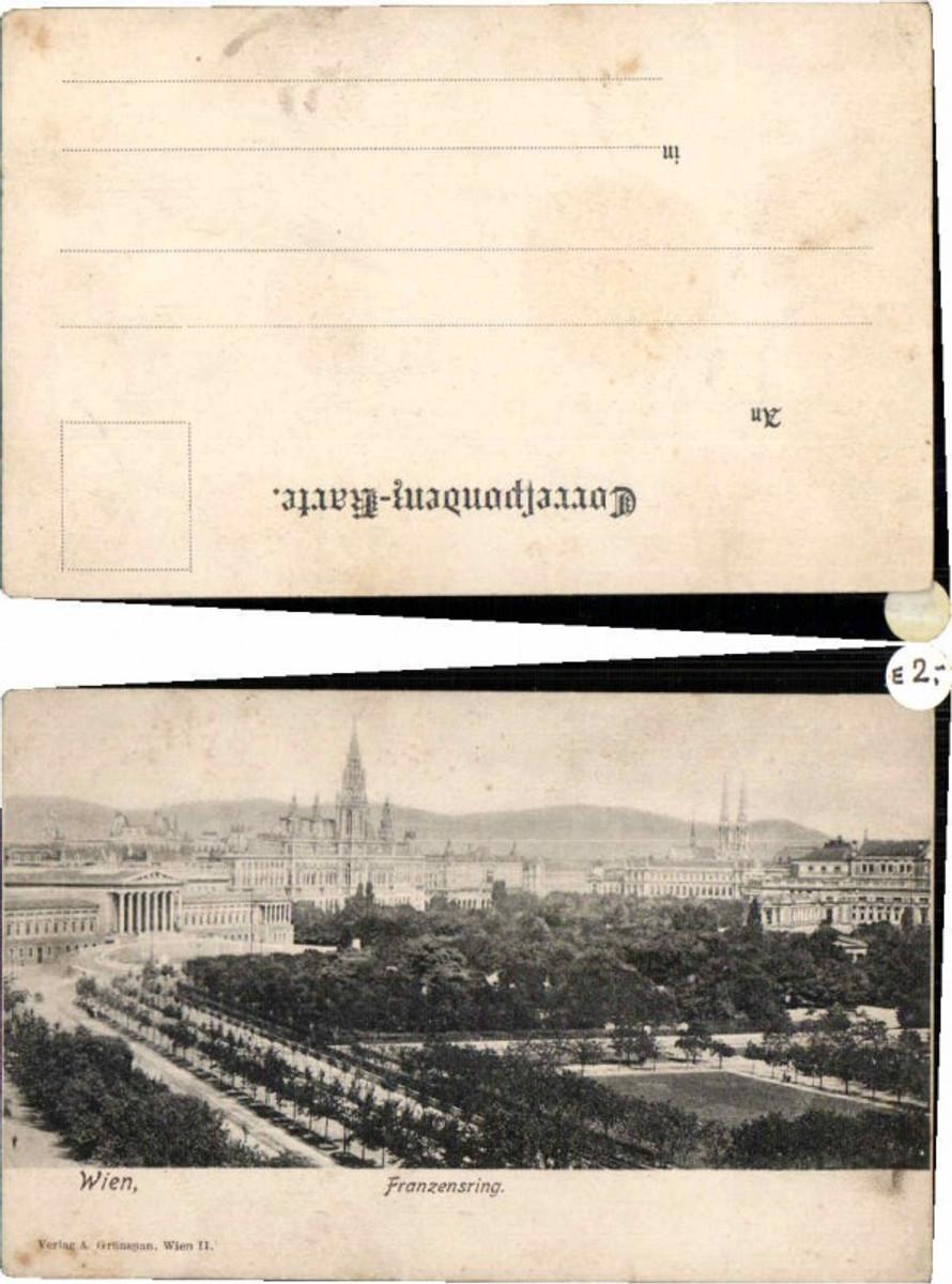 60720,Wien Franzensring Partie um 1905 günstig online kaufen