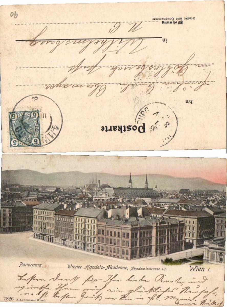 60753,Wien 1 Wiener Handels Akademie 1902 günstig online kaufen