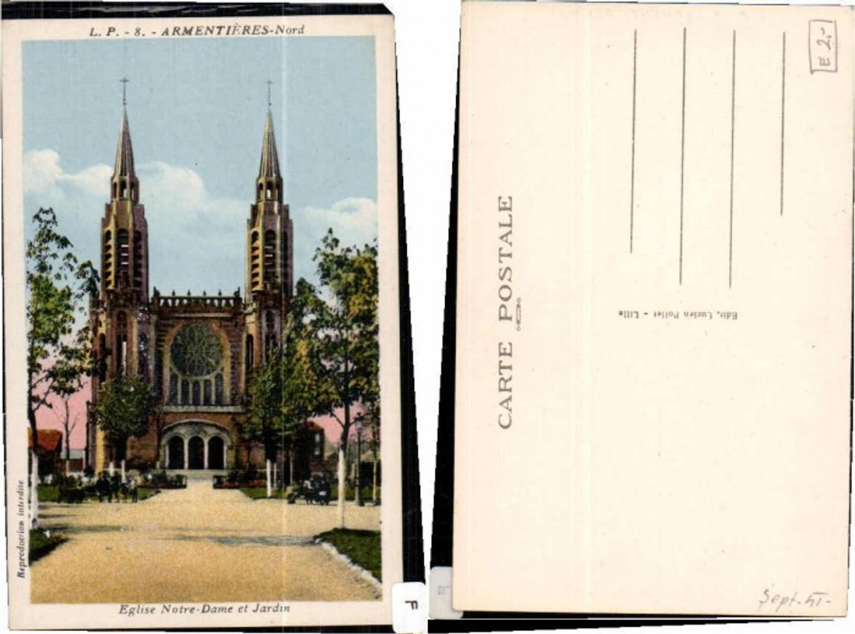 61042,Eglise Notre Dame et Jardin Armentieres  günstig online kaufen