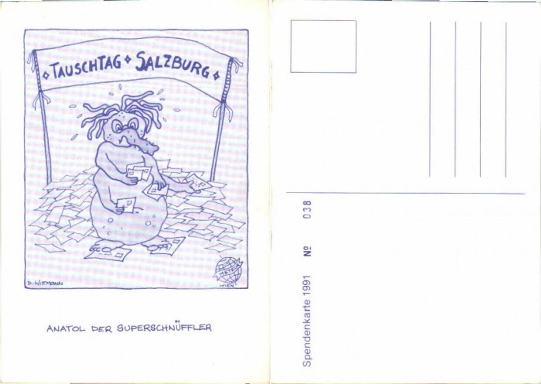 61231,Spendentag Tauschtag Salzburg 1991 D. Wittmann günstig online kaufen
