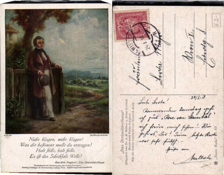 61252,A. Broch Dreimäderlhaus Willner Reichert  günstig online kaufen