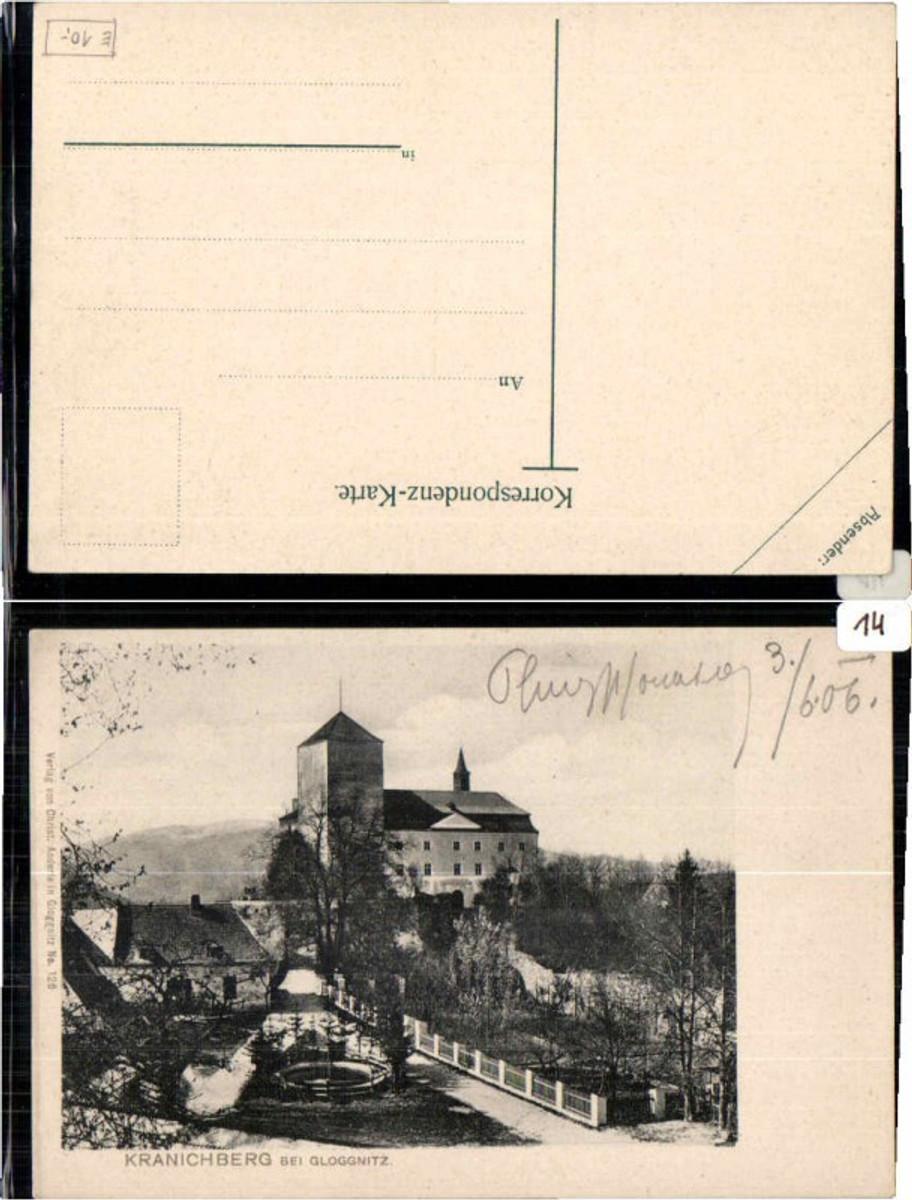 61339,Kranichberg b. Gloggnitz 1905 günstig online kaufen