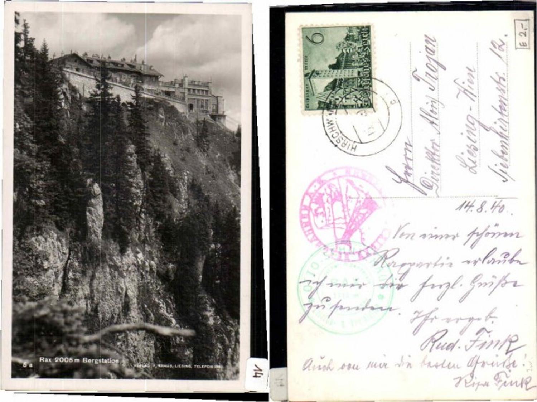 61343,Rax Reichenau Bergstation  günstig online kaufen