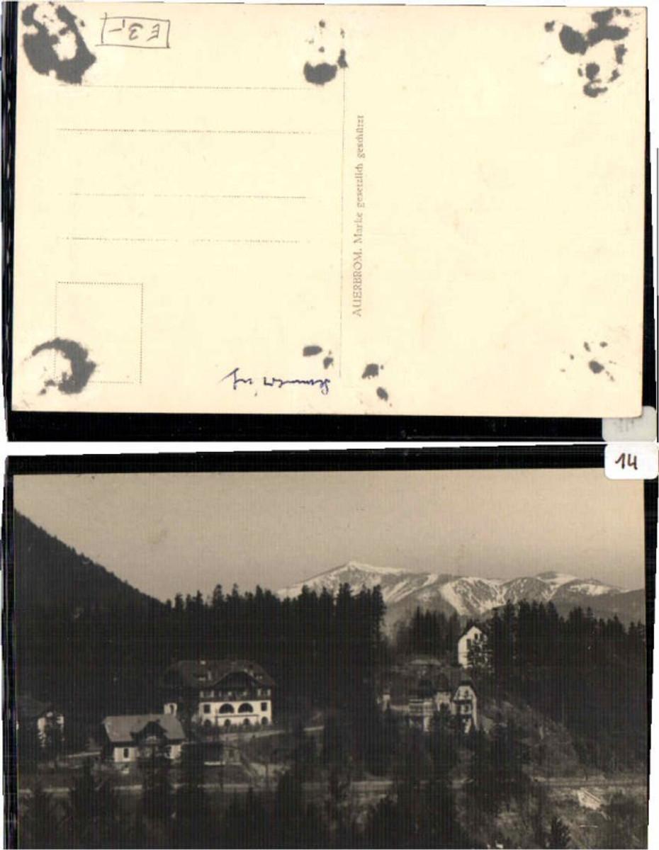 61513,Fotokarte aus Semmering Teilansicht günstig online kaufen