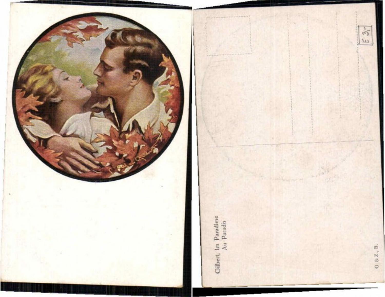 61734,Gilbert Im Paradies Liebespaar kuss  günstig online kaufen