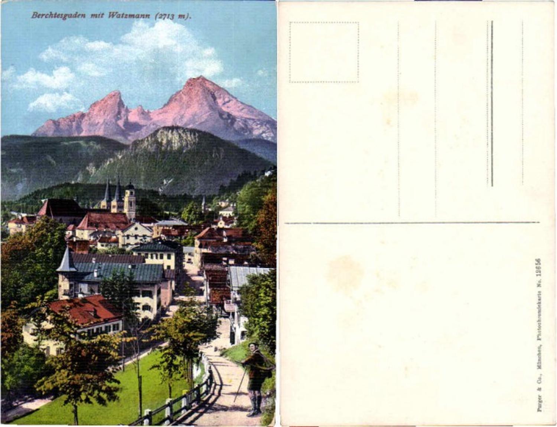 62250,Berchtesgaden mit Watzmann Purger Co 12656 günstig online kaufen