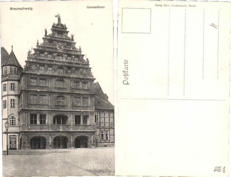 62283,Braunschweig Gewandhaus 1910 günstig online kaufen