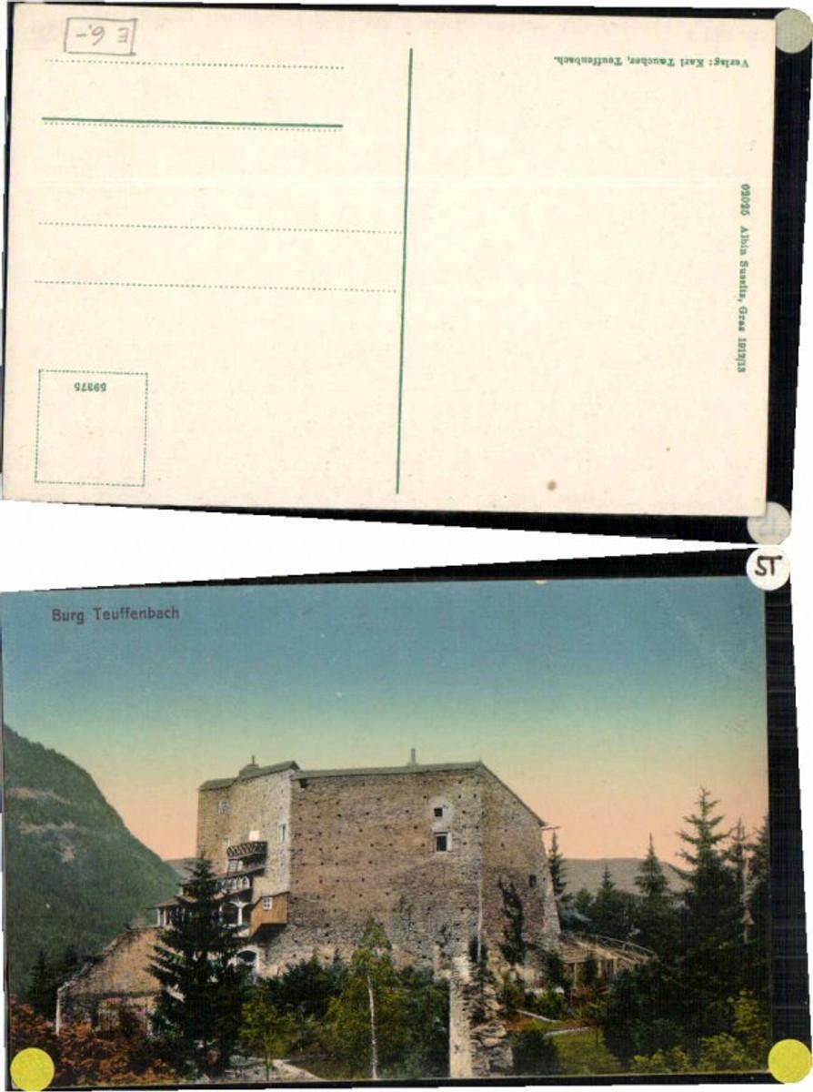 62556,Burg Teuffenbach Teufenbach pub Sussitz 02025 günstig online kaufen