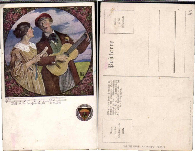 62910,Dt Schulverein 459 Leo Kainradl Gitarre Paar  günstig online kaufen