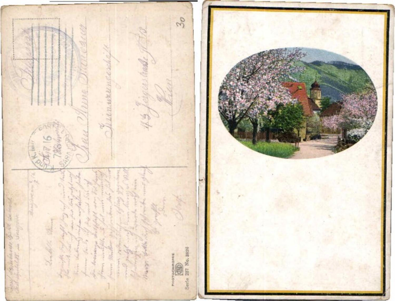 63989,Photochromie Ser 287-3826 Frühling Blüte Bäume günstig online kaufen