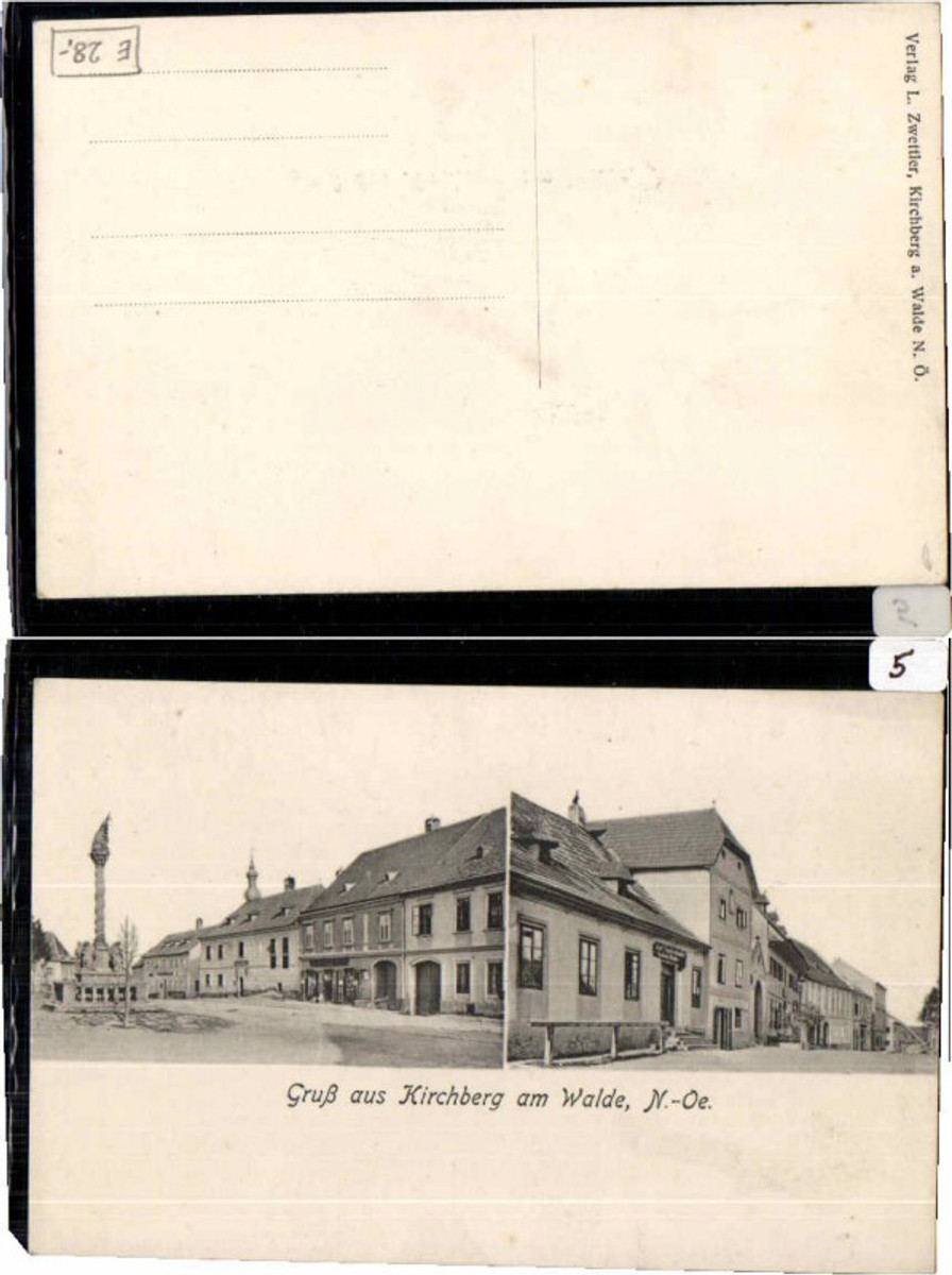 64407,Gruss aus Kirchberg am Walde Gasthaus   günstig online kaufen