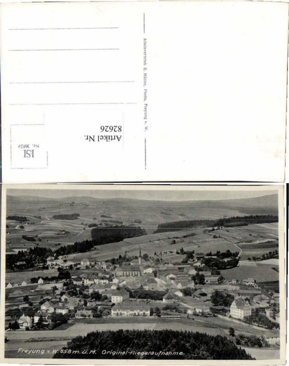82626,Fliegeraufnahme Freyung 1935 günstig online kaufen