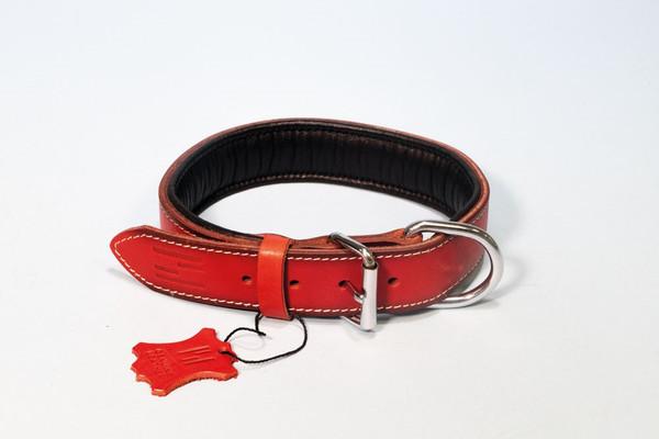 Hundehalsband aus feinstem Rindsleder  – Bild 5
