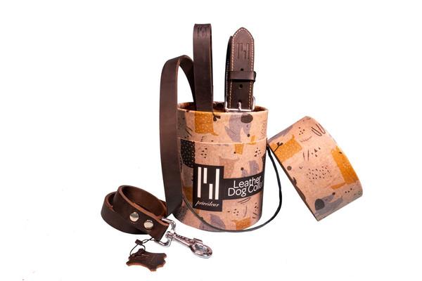 2er-Set Hundehalsband und Hundeleine 'Classic' – Bild 10