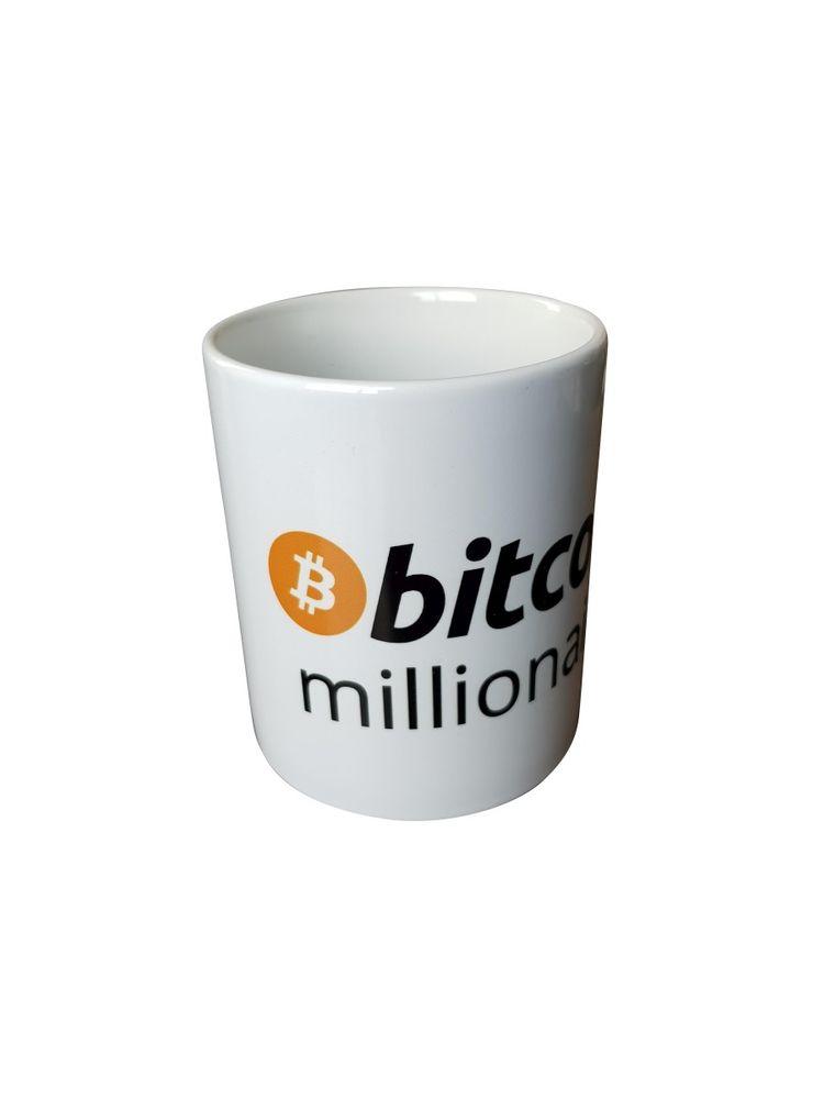 "Tasse ""bitcoin millionaire"" weiß"