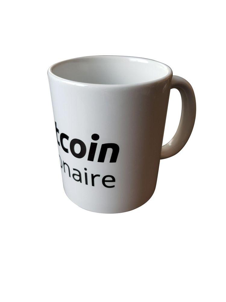 "Tasse ""bitcoin millionaire"" weiß – Bild 3"