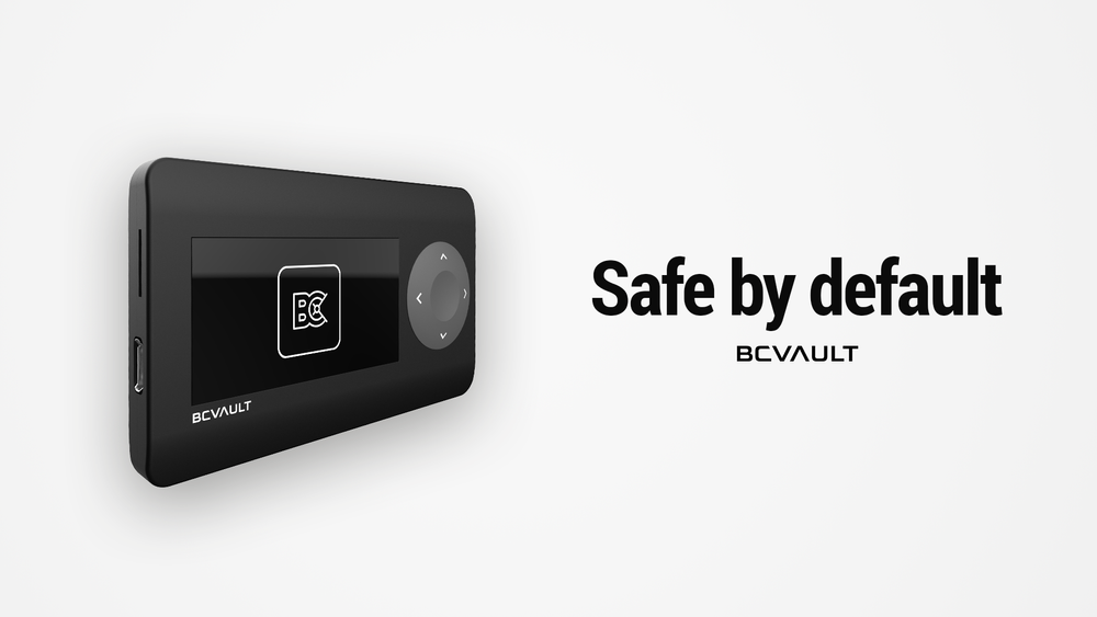 BC VAULT ONE - Safe by default – Bild 1