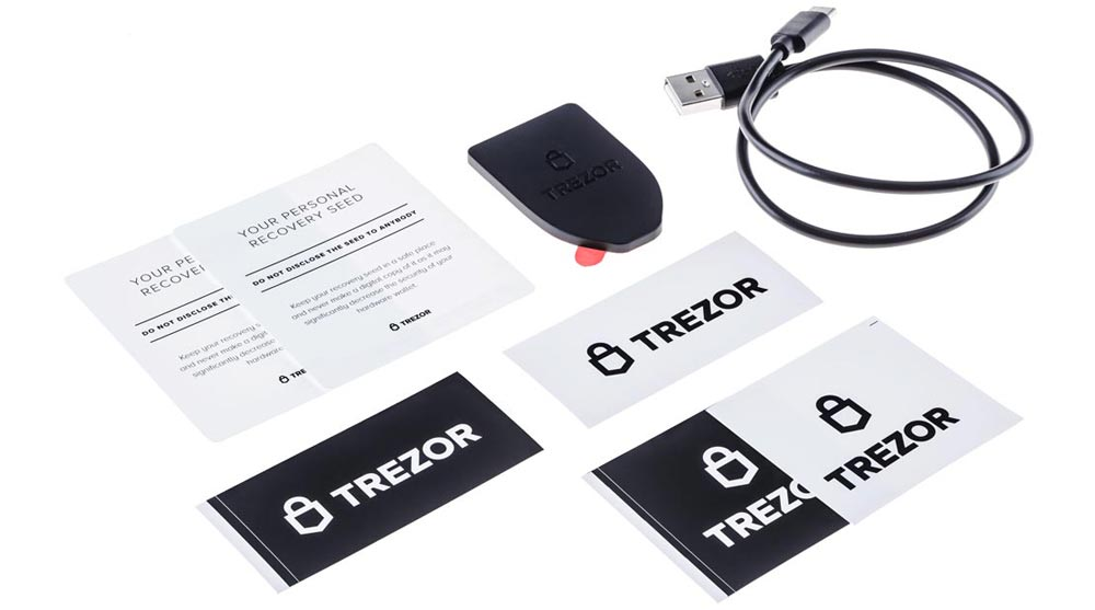 Bundle TREZOR Model T + Billfodl – Bild 4