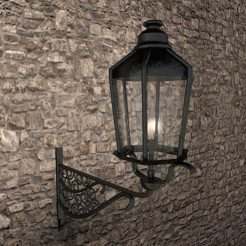 Beleuchtung Gaslampe