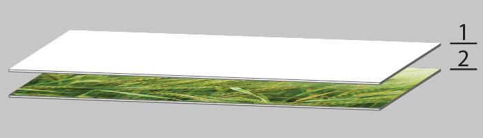 Glasbild Herstellung Schritt 1