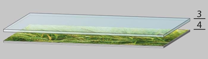Glasbild Herstellung Schritt 2