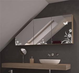 Zur Kategorie: Spiegelschränke für Dachschrägen