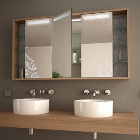 Zur Kategorie: Spiegelschränke mit Holz-Korpus