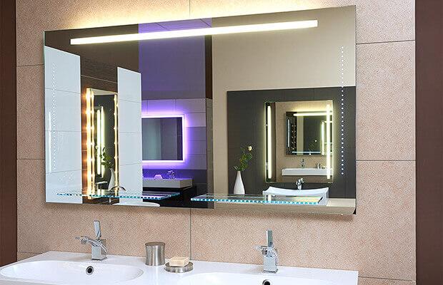 Badspiegel Showroom